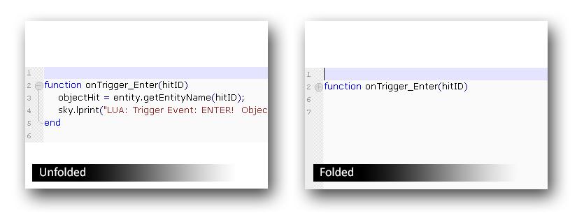 function folding