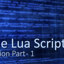 Artists Guide to Lua Part-1