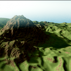 Terrain GPU Based Shadowmaps
